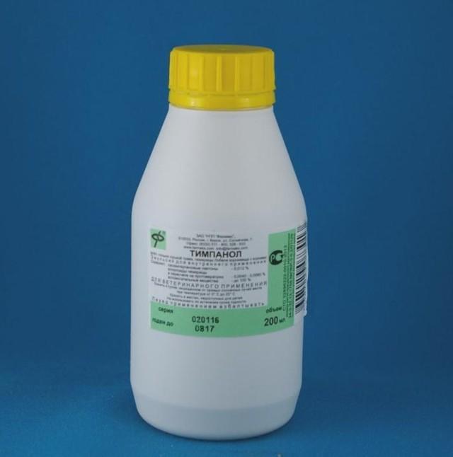 Инструкция по применению препарата тимпанол для кроликов, коз, коров и других животных