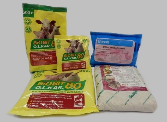 Биовит 80 инструкция по применению от инфекционных заболеваний животных и птиц