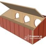 Гнездо для кур несушек своими руками: чертеж, размер, фото, видео
