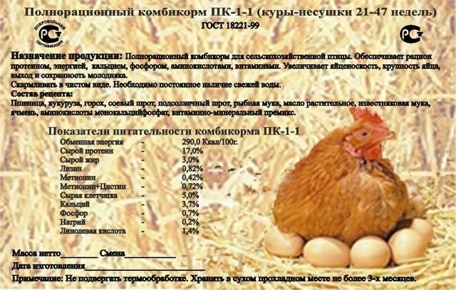 Состав комбикорма для кур: ПК-4, ПК-5 и ПК-6, как сделать зерносмесь самому