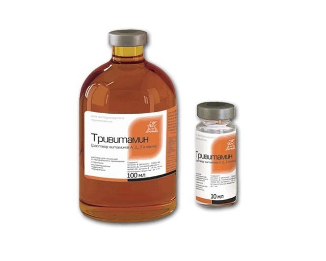 Тривит (Тривитамин п) для животных и птиц инструкция по применению, дозы и аналоги